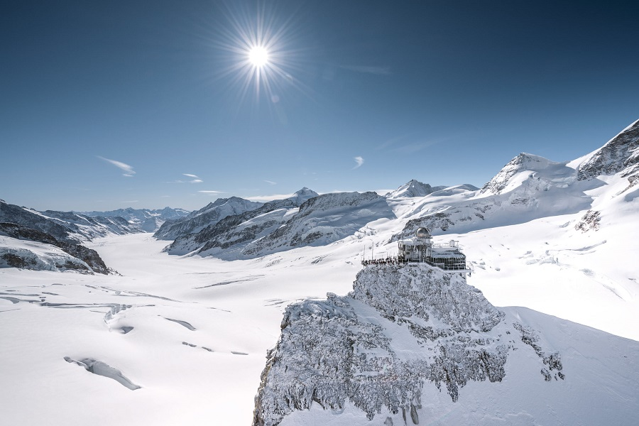 Švýcarsko Grindelwald, Top of Europe