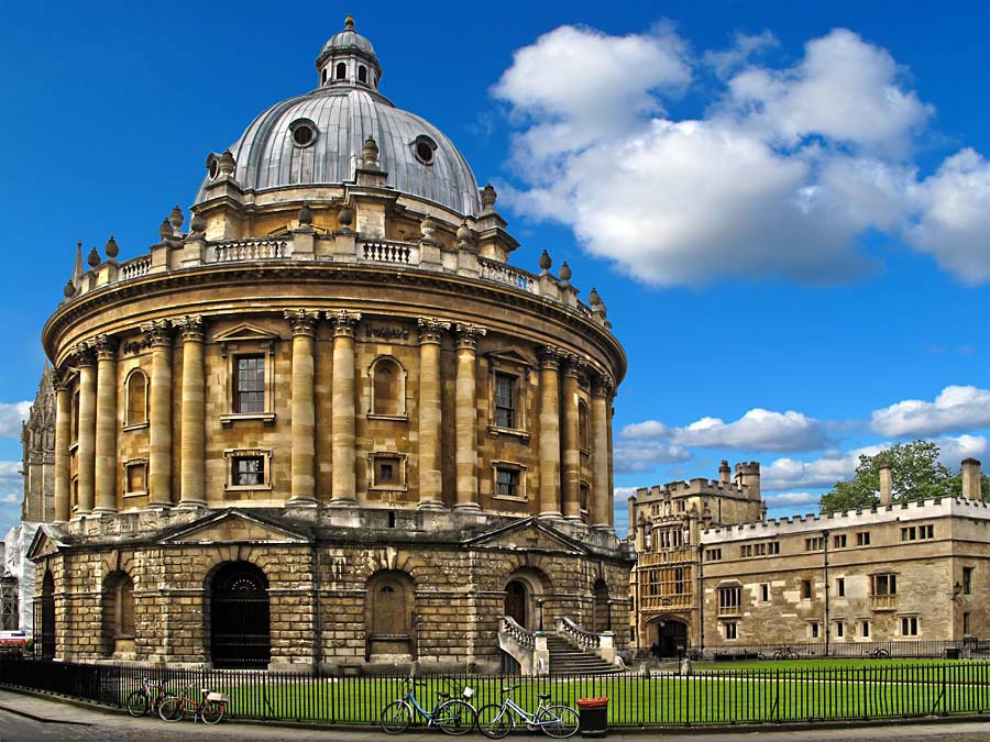Radcliffe Camera, Oxford, Anglie