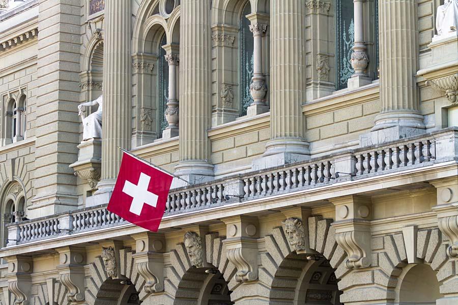 Švýcarský parlament, Bern, Švýcarsko