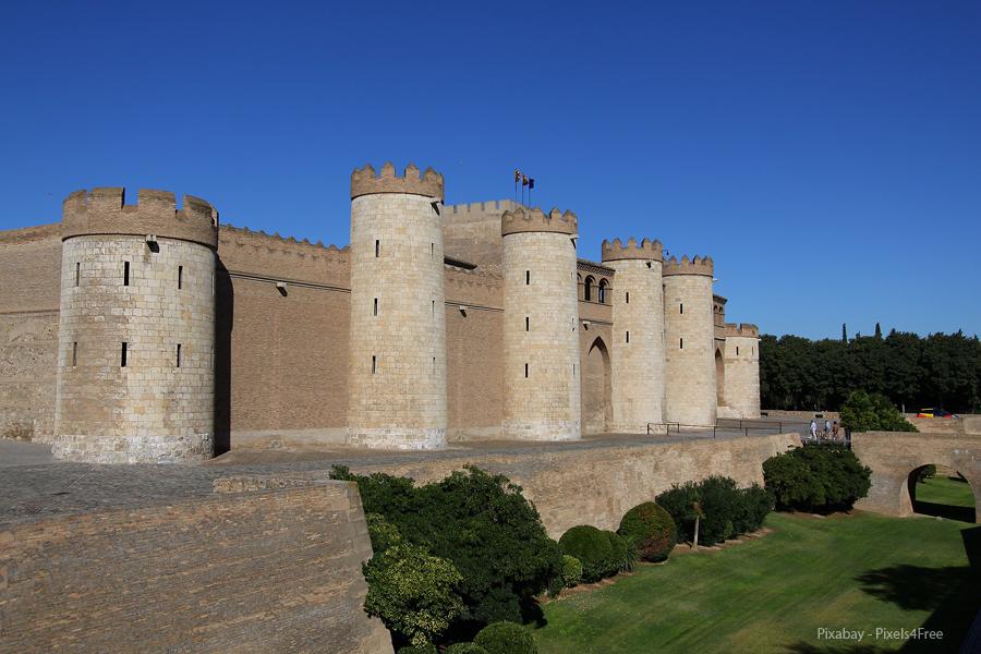 Španělsko, Zaragoza - Aljafería