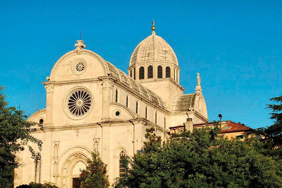 Katedrála sv. Jakuba, Šibenik, Chorvatsko
