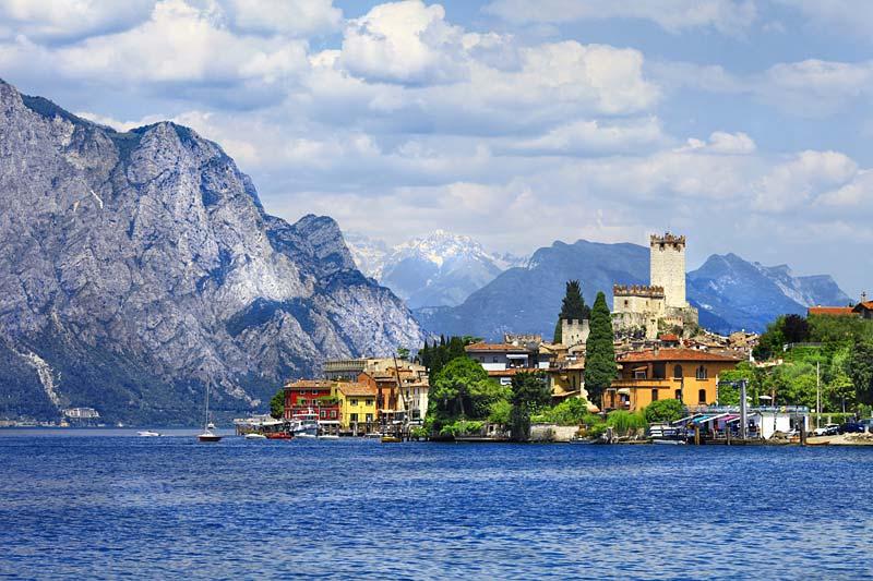 Malcesine, Lago di Garda, Itálie