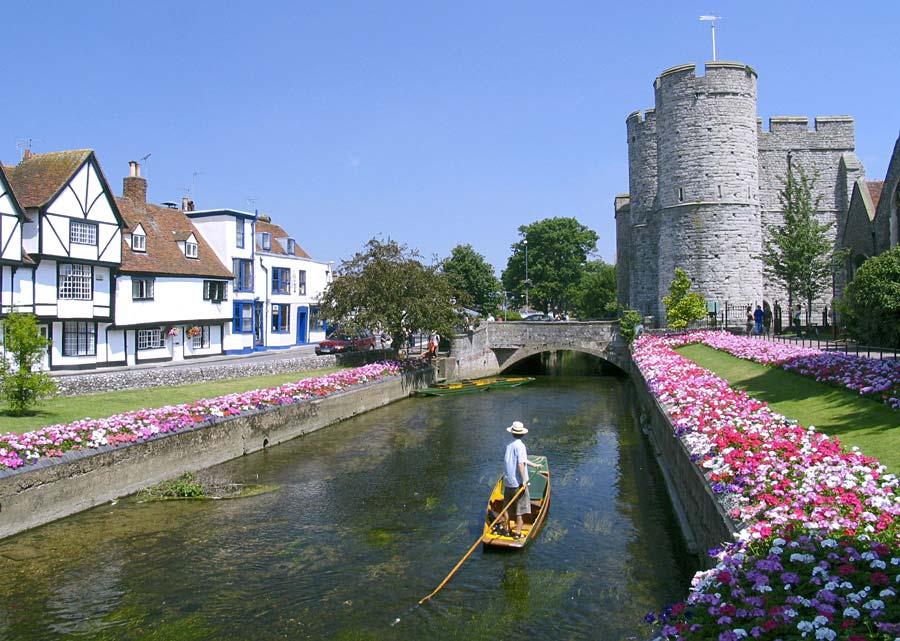 Canterbury, Anglie