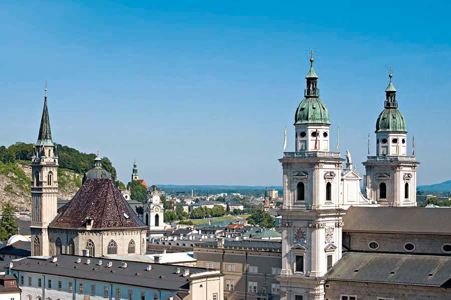 Salzburger Dom, Salzburg, Rakousko