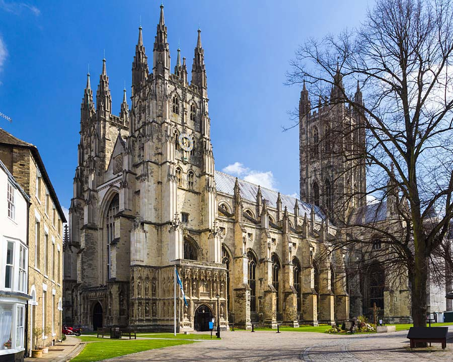 Canterbury Cathedral, Canterbury, Anglie