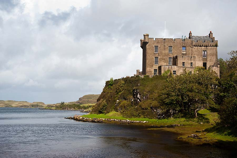 Dunvegan castle, Skotsko