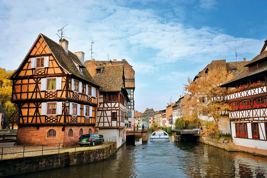 La Petite France, Strasbourg, Francie