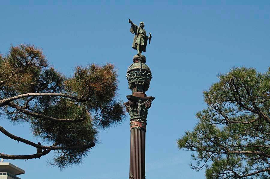 Kolumbův památník, Barcelona, Španělsko