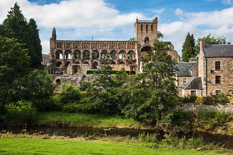 Jedburgh Abbey, Skotsko