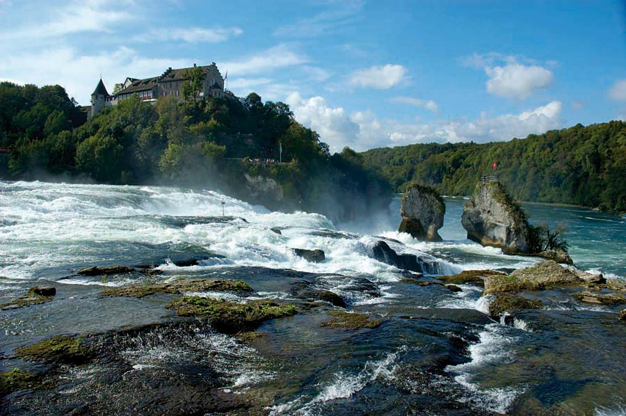 Rýnské vodopády, Švýcarsko