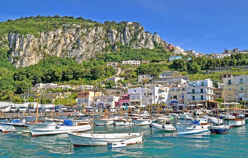 Řím, Neapol, Capri