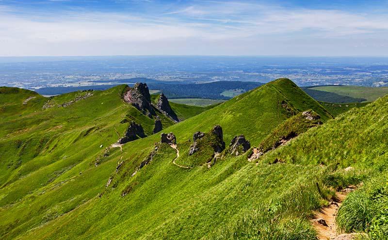 Puy de Sancy, Francie
