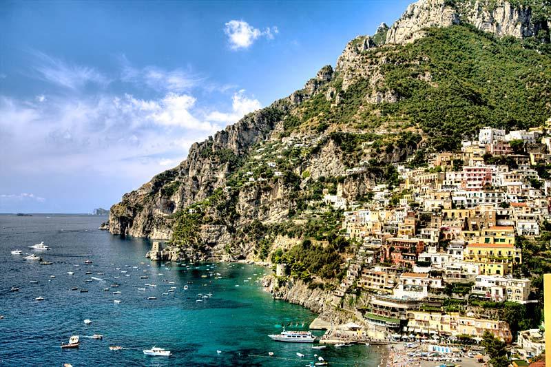 Positano, Itálie