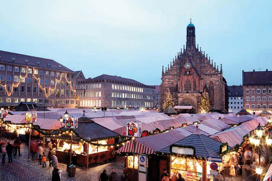 Německo, Norimberk, advent