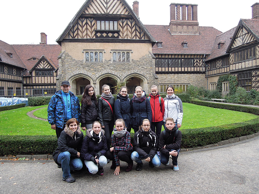 15 ZŠ Vsetín - Postupim - Schloss Cecilienhof