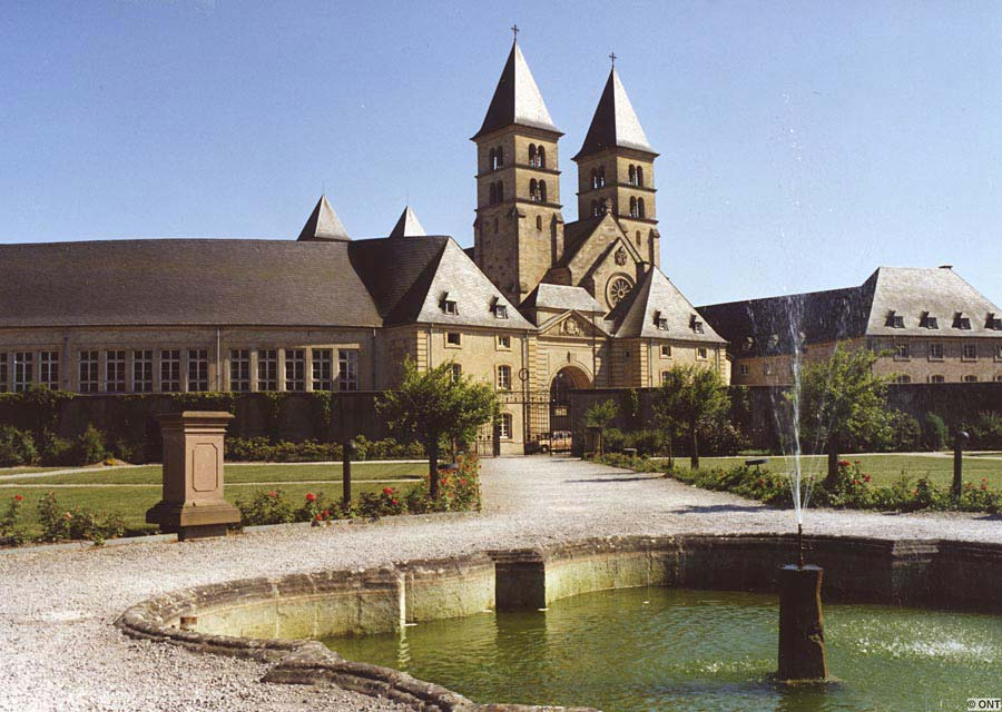 Abbey of Echternach, Echternach, Lucembursko