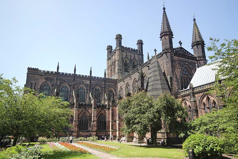 Chester Cathedral, Chester, Anglie