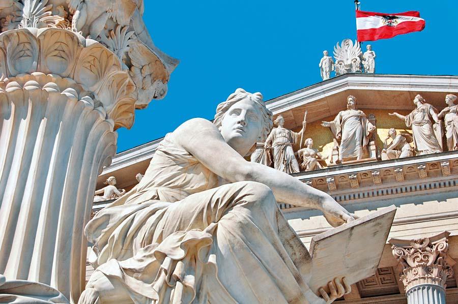 Vídeň a rakouský parlament