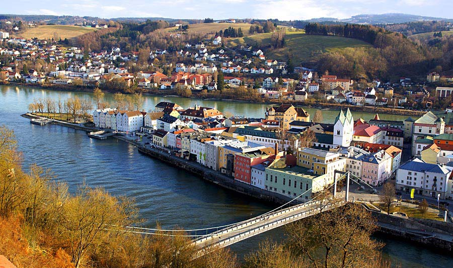 Pasov, Německo