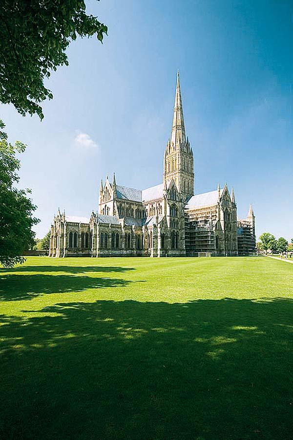 Salisbury Cathedral, Sailsbury, Anglie