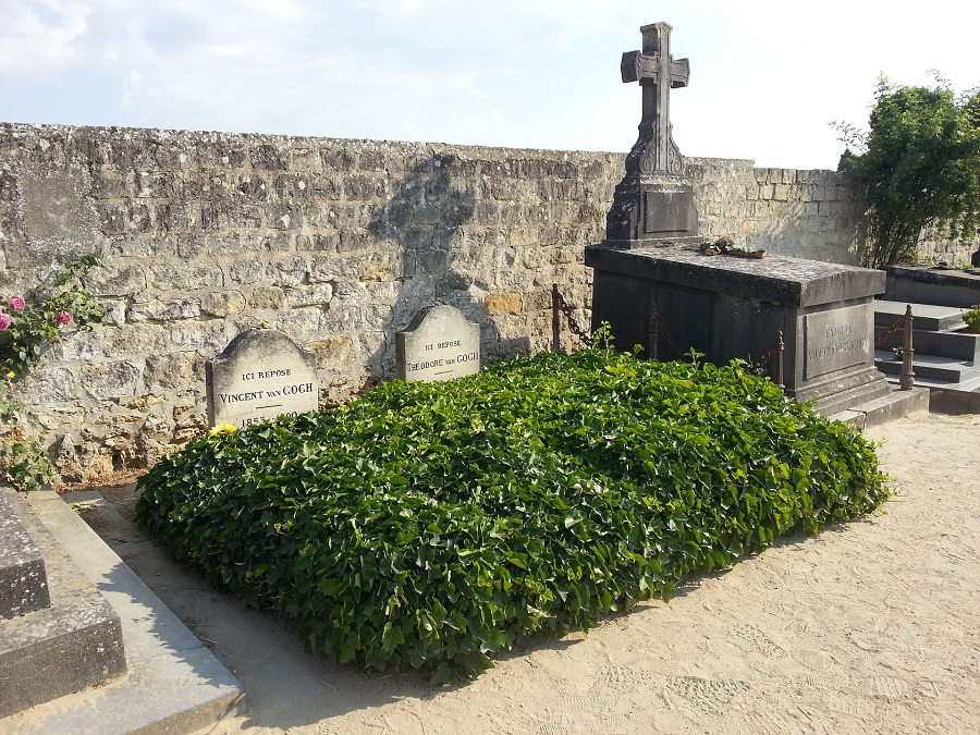 Francie Auvers sur Oise, hrob Van Gogha
