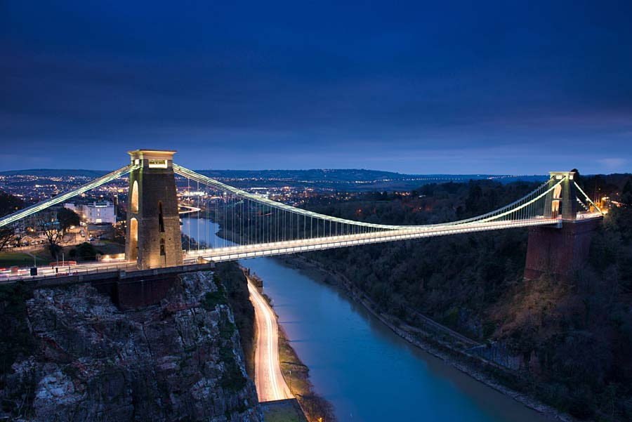 Clifton Suspension Bridge, Bristol, Anglie
