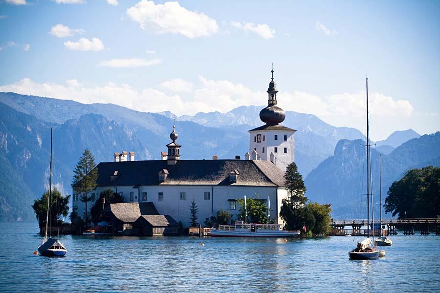 Schloss Ort am Traunsee, Gmunden, Rakousko