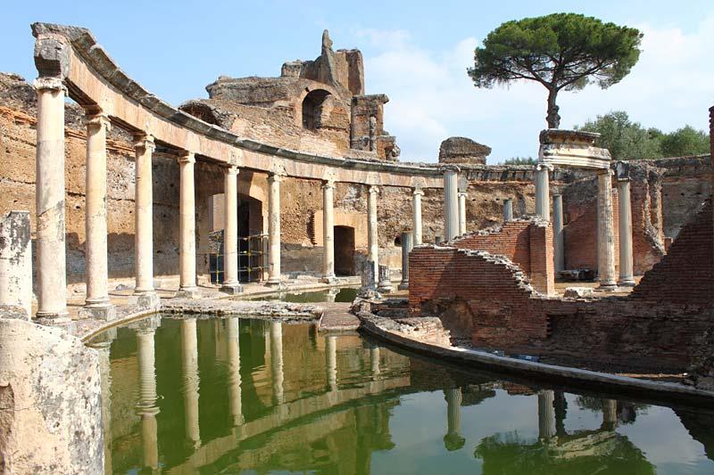 Hadriánova vila, Tivoli, Itálie