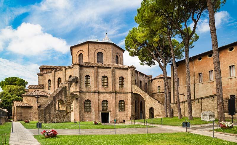 Basilica di San Vitale, Ravenna, Itálie