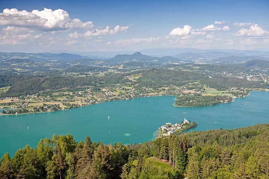 Wörthersee, Korutany, Rakousko