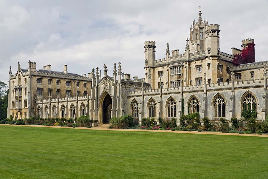 St John´s College, Cambridge, Anglie