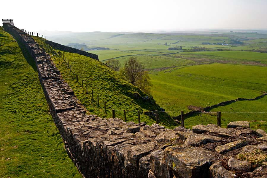 Hadrian´s Wall, Anglie