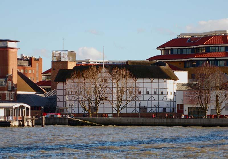 The Globe Theatre, Londýn, Anglie