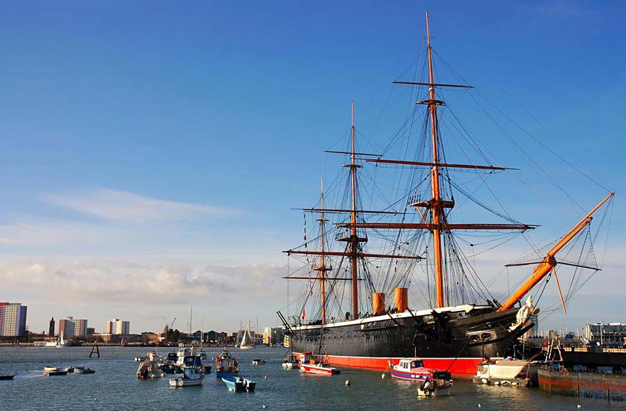 HMS Warrior, Portsmouth, Anglie