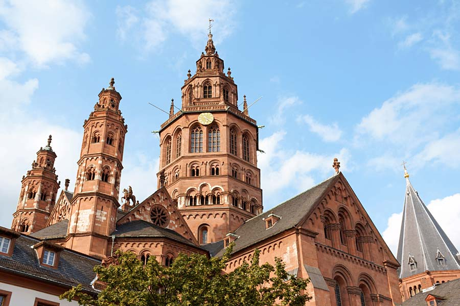 Mainzer Dom, Mohuč, Německo