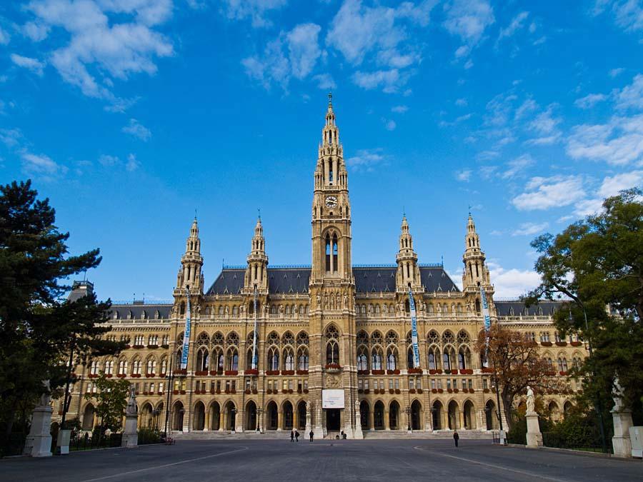 radnice, Vídeň, Rakousko