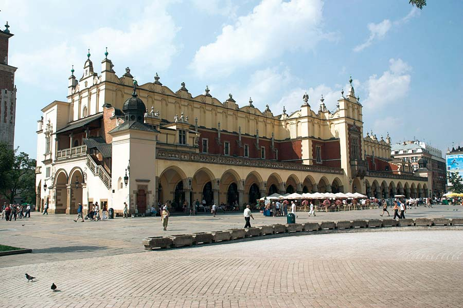 Sukiennice, Krakov, Polsko