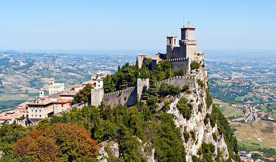 San Marino, moře a rychlá kola