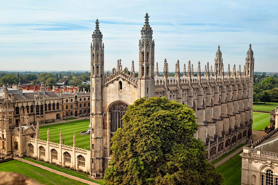 King´s College Chapel, Cambridge, Anglie