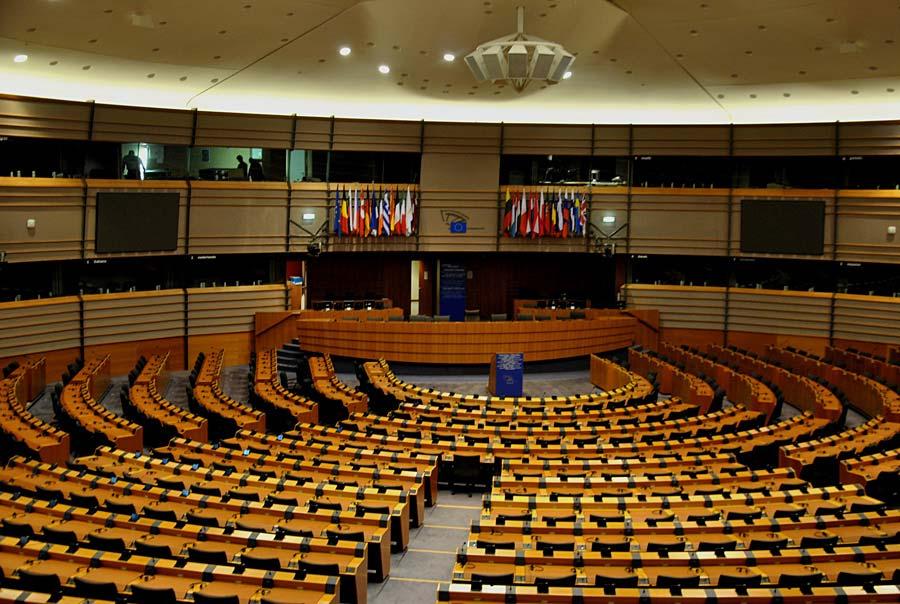 Evropský parlament, Brusel, Belgie